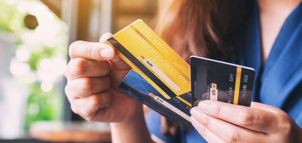 Dont let your credit cards control you